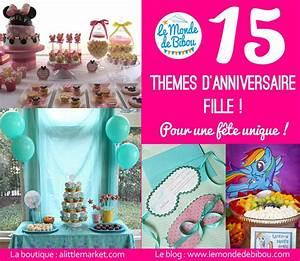 Theme Anniversaire Fille : 15 id es de th mes d 39 anniversaire pour une fille ~ Melissatoandfro.com Idées de Décoration