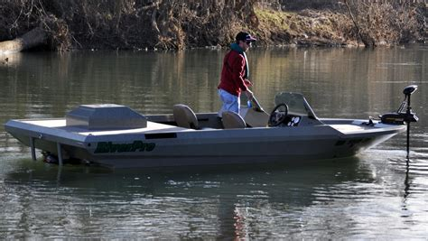 Used River Fishing Jet Boats For Sale by Riverpro Boats 186 Lopro River Fishing Aluminum Boat
