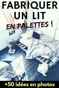 Fabriquer Un Lit En Palette : les 1163 meilleures images du tableau palette sur pinterest chambres lit en bois de palettes ~ Dode.kayakingforconservation.com Idées de Décoration