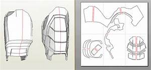 howto fine tuning of pepakura foam parts39 size With iron man suit template