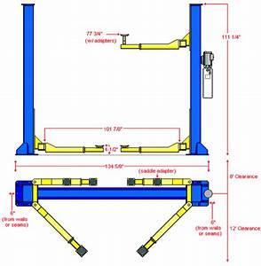 Asymmetric -vs- Symmetric 2-post Car Lifts