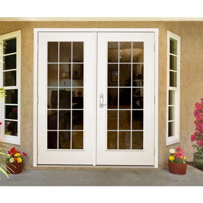 Jeld Wen Patio Doors Canada by Jeld Wen Windows Doors Outswing 5 Inch 15 Lite