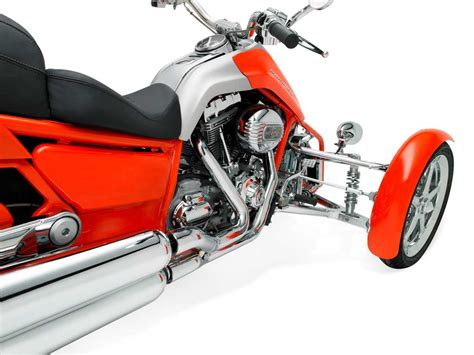 Harley-davidson Shows Off Penster Leaning Trike Prototypes