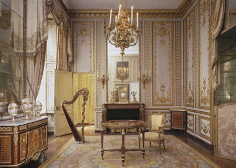 French Neoclassical Louis Xvi Versailles Salons And