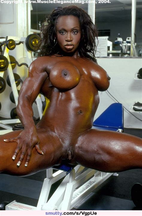 Ebony Fit Muscle Fbb Naked Female Bodybuilder Nude Femalebodybuilder Toned Tone