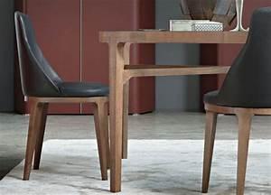 Table Et Chaise De Salle A Manger : chaises de salle a manger design cuir ~ Teatrodelosmanantiales.com Idées de Décoration