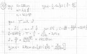 Auslenkung Berechnen : wellengleichungen ~ Themetempest.com Abrechnung