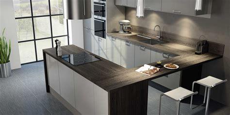 cuisines modernes cuisine moderne grise hygena interieur