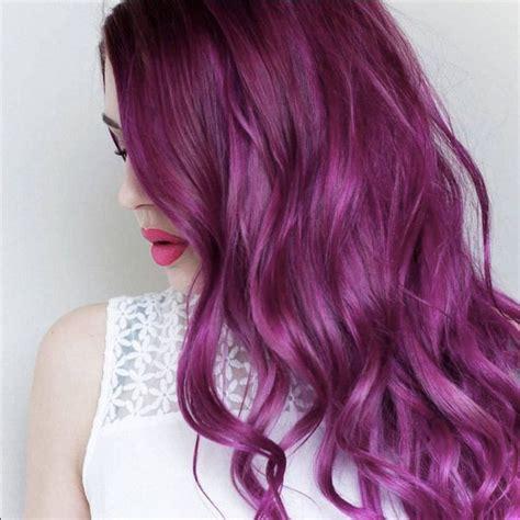 magenta hair color best 25 magenta hair dye ideas on magenta