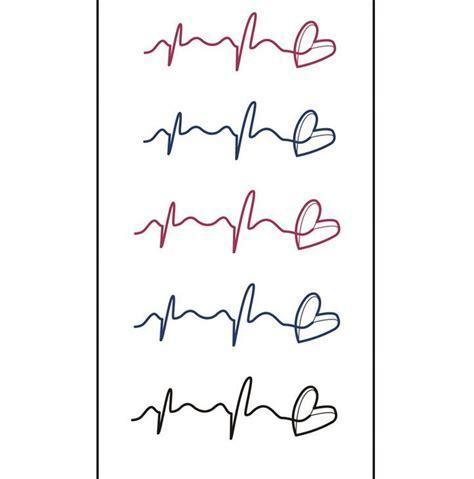rythme cardiaque de tatouage achetez des lots  petit prix