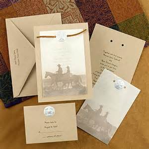 western wedding invitations cheap western wedding invitations the wedding specialists
