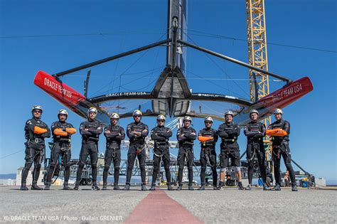 Boat Crews Usa by Oracle Team Usa Your Cruising Editor