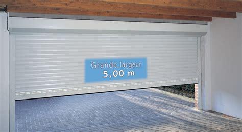 installation thermique porte de garage enroulable motorisee sur mesure