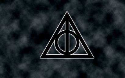 Deathly Hallows Potter Harry Symbol Wallpapers Nadyn