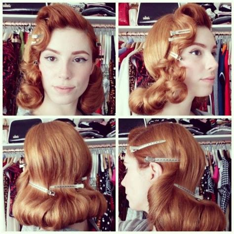 1950s Hairstyle Tutorial by 1940s 1950s Vintage Hairstyles Post Of Ideas The