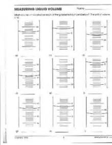 Volume Worksheets 4th Grade Common Core Volume