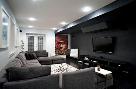 peinture chambre taupe le salon gris et noir comment le décorer archzine fr