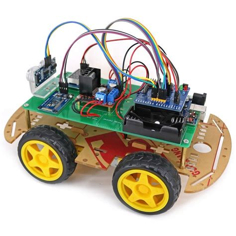 71764 4wd Discount Code by 4wd Bluetooth Controlled Smart Robot Car Kit For Arduino
