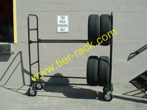 the tire rack order retail tire cart
