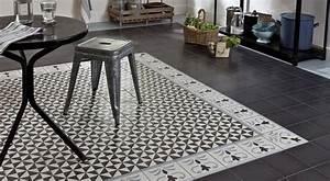 Tapis Carreaux De Ciment Saint Maclou : 36 id es d co avec des motifs carreaux de ciment ~ Nature-et-papiers.com Idées de Décoration