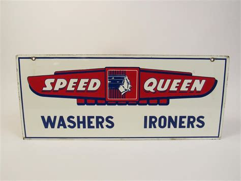 Fabulous Circa 1940s Speed Queen Washers-irons Double