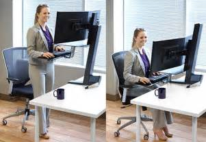 Ergotron Sit Stand Desk Adjustment by Ergotron 33 349 200 Workfit S Adjustable Standing Desk