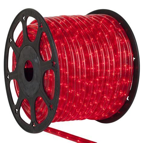 rope light  red mini rope light commercial spool