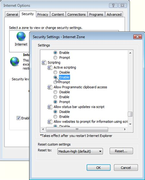 how to enable javascript enabling and disabling javascript in web browsers