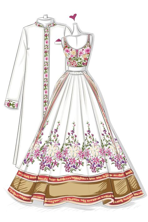 exotic colorful floral  piece sleeveless wedding dress