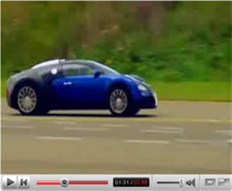 Bugatti Test Track by Bugatti Veyron Race Track Test Drive