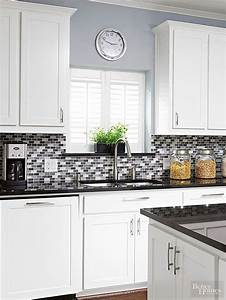 26 bold mosaic kitchen backsplashes to get inspired digsdigs for Kitchen colors with white cabinets with wall art ceramic tile wall hangings