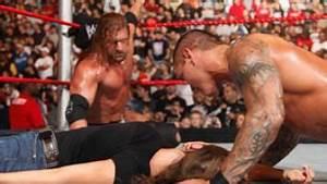 Raw: Randy Orton kisses an incapacitated Stephanie McMahon ...