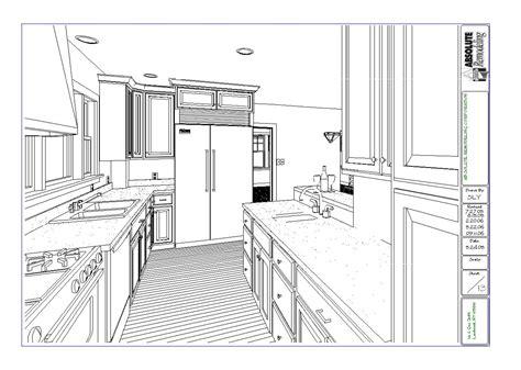 Larchmont Westchester Kitchen Renovaton Floor Plan Design