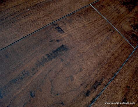 laminate wood flooring scraped tecsun espresso walnut 12mm hand scraped fh3027 hardwood flooring laminate floors floor ca