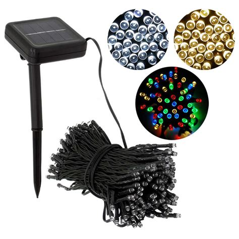 outdoor ornament lights decorative 100 led modes