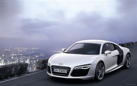 Audi R8 V10 by Audi R8 V10 Plus 2013 Widescreen Car Image 16 Of