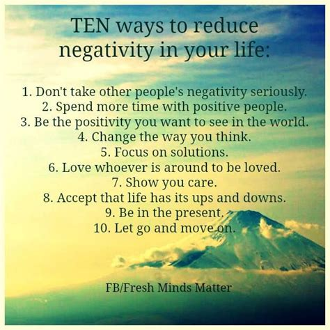 Reduce Negativity In Your Life In 10 Ways
