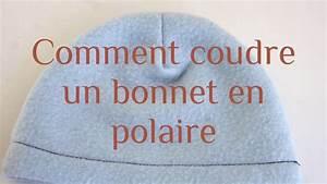 coudre un bonnet en polaire youtube With coudre un canapé en cuir
