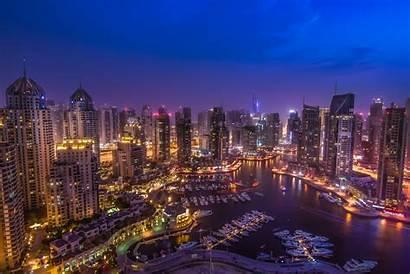 Dubai 4k Macbook Wallpapers Marina Uae Night