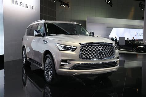 Infiniti Qx80 2019 by The 2019 Infiniti Qx60 And Qx80 Unveiled During New York