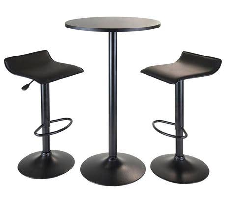 6 contemporary black pub table sets furniture