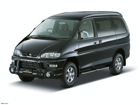 Mitsubishi Delica Backgrounds by Mitsubishi Delica Space Gear 4wd 1997 2007 Wallpapers
