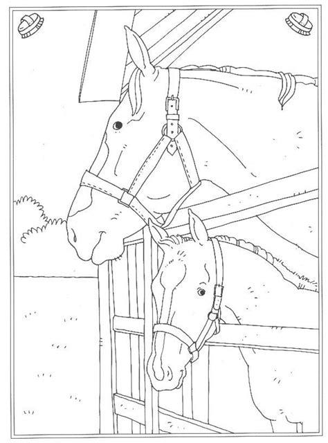 Kleurplaat Paarden Manege by Kleurplaat Playmobil Manege Artismonline Nl