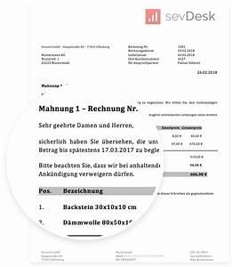 1 Und 1 Rechnung : mahnungsvorlage f r word excel mit anleitung als gratis download ~ Themetempest.com Abrechnung