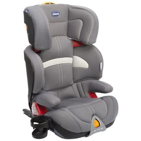 siege auto groupe 2 3 isofix inclinable chicco siège auto oasys 2 3 fixplus grey groupe 2 3