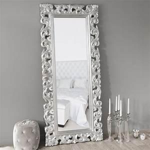 Miroir Fenetre Maison Du Monde : miroir rivoli silver 190x80 maisons du monde ~ Teatrodelosmanantiales.com Idées de Décoration