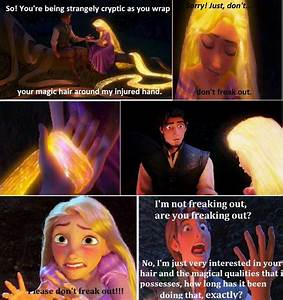 I made this meme because Tangled is the best movie EVER!!!