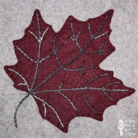 Leaf Applique by Quilt Inspiration Free Pattern Day Autumn Leaves Quilts