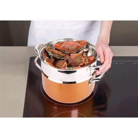 copper luxury  piece copper cookware set