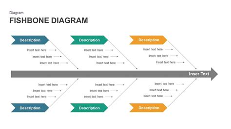 fishbone diagram powerpoint template slidebazaar